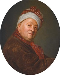 portrait of étienne jeaurat (1699-1789) by etienne aubry