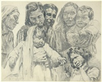 women and children by erich wolfsfeld