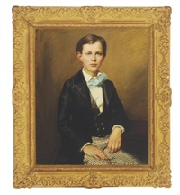 portrait of a boy wearing his sunday best by dewitt mcclellan lockman