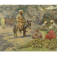 at the market by georgy gabashvili