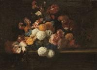 bodegón de flores by jacques linard