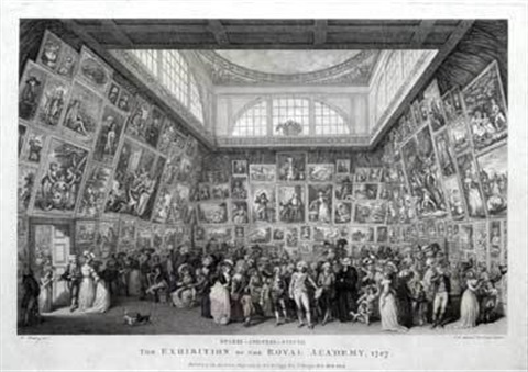 the exhibition of the royal academy by pietro antonio martini