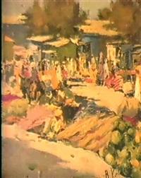 le marche de boukhara by valentin kavoline