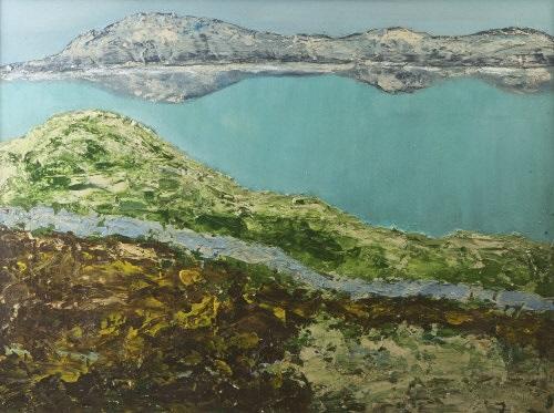 coastal landscape by arthur armstrong
