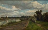 paisaje by eduardo rosales gallinas