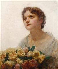 the rose girl by alfred edward emslie