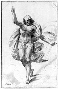 the risen christ by pieter abrahamsz ykens