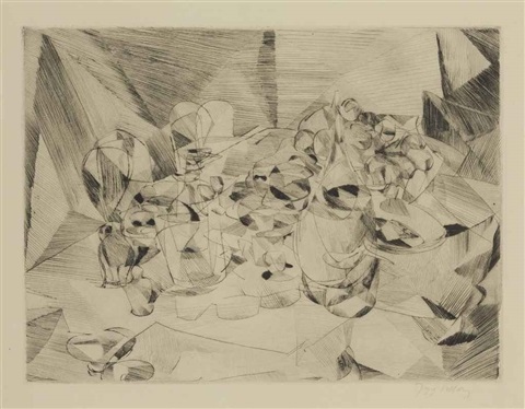 la table servie by jacques villon