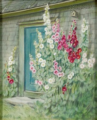 rhode island doorway by clara l. maxfield
