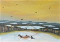 vultures by jaroslav valecka