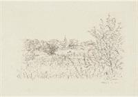 paysage by hasegawa kiyoshi