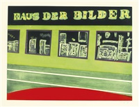 haus der bilder (from the 100 years ago series) by peter doig