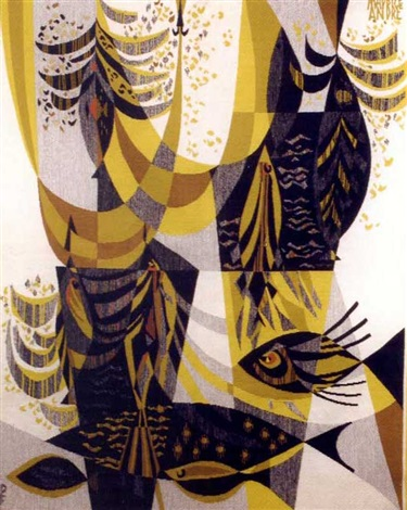poissons noirs by maurice andre