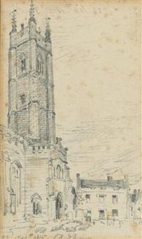 dedham church, essex by john constable