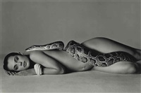 nastassja kinski and the serpent, los angeles, california, june 14 by richard avedon
