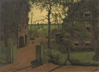 boerderij aan de amstel - the riverside farmhouse by eduard karsen