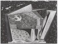 al chiaro di luna (iv scena teatrino futurista) by agibecifuturista