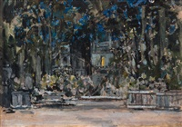 stage design by konstantin alexeievitch korovin