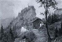 die kientalerhuette am schneeberg by ferdinand remp