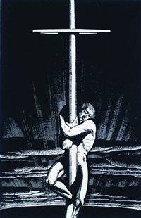sea and sky by rockwell kent