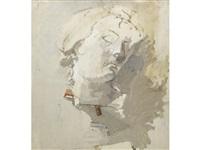 baroque head by euan uglow