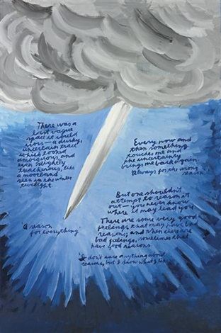 untitled there was a last vague space by raymond pettibon