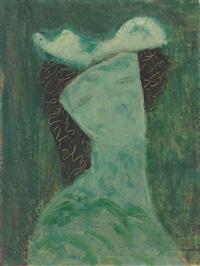 fanciful woman by milton avery