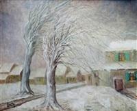 les arbres sous la neige by marie madeleine de rasky