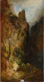 paysage de montagne by lluis rigalt farriols