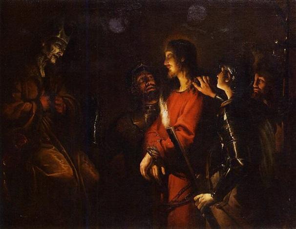 cristo davanti a caifa by trophîme theophisme bigot the elder