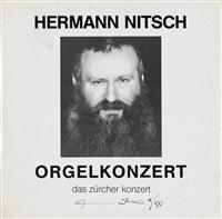 orgelkonzert - das zürcher konzert by hermann nitsch