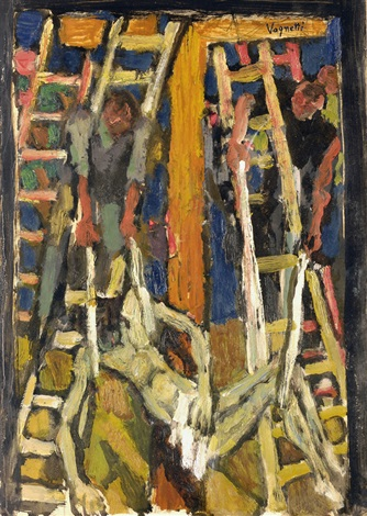 deposizione dalla croce by gianni vagnetti