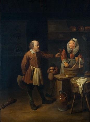 chez le boucher by david ryckaert iii