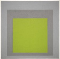 study for homage to the square: early growth by josef albers