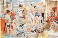 palace pier brighton by kenneth wynn