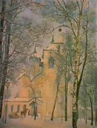 le monastere by serguei matchekhine