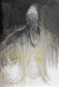 托马斯肖像2011.no.1 (portrait of thomas) by mao yan