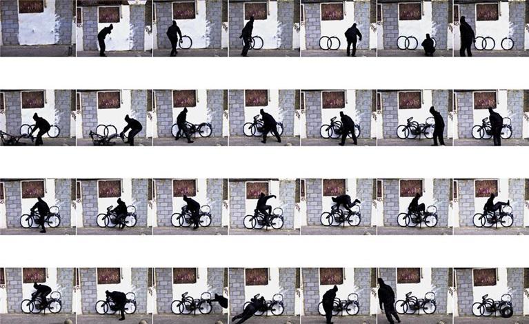 motorbike (in 28 parts) by robin rhode