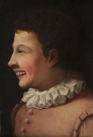jeune garçon de profil by annibale carracci