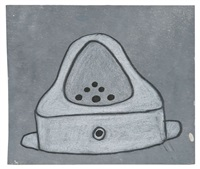 fountain drawing (marcel duchamp) by mike bidlo