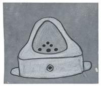 fountain drawing (marcel duchamp) by mike bidlo