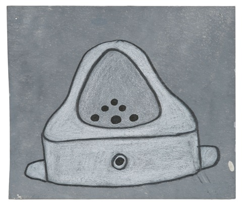 fountain drawing marcel duchamp by mike bidlo