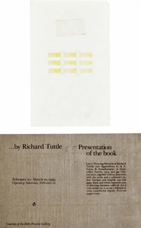 48 1/2 center-point works by richard tuttle