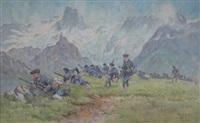 les chasseurs alpins (2 works) by bernard rambaud
