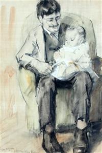 portret van willem korteling by han van meegeren