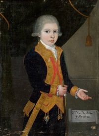 retrato de d. francisco de milla y mendoza niño by spanish school (18)