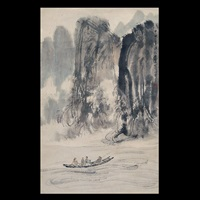 landscape by fu baoshi