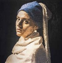 tribute to vermeer by yusuf aygec