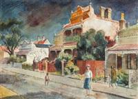 street scene by john terence santry