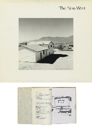 the new west. landscapes along the colorado front range (book w/56 works, oblong quarto, first ed.) and untitled (2 works) by robert adams
